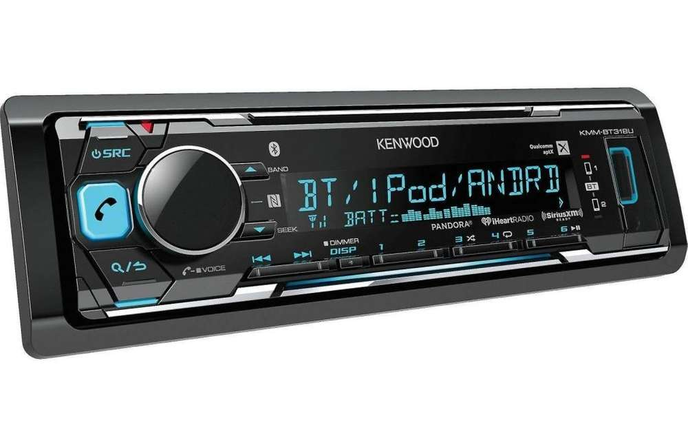 Radio para auto KENWOOD KMMBT318 MP3 / USB / AM / FM BLUETOOTH CAR STEREO DIGITAL MEDIA RECEPTOR