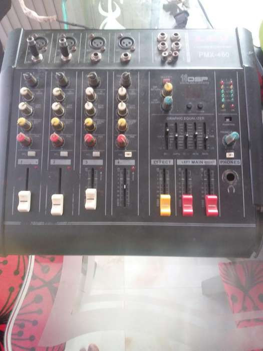Amplificardor;consola Y Ecualizador