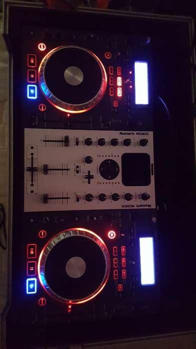 Controlador Numark Mixdeck Como Nuevo