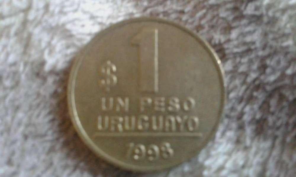 Moneda Uruguaya De 1 Peso Del Año 1998