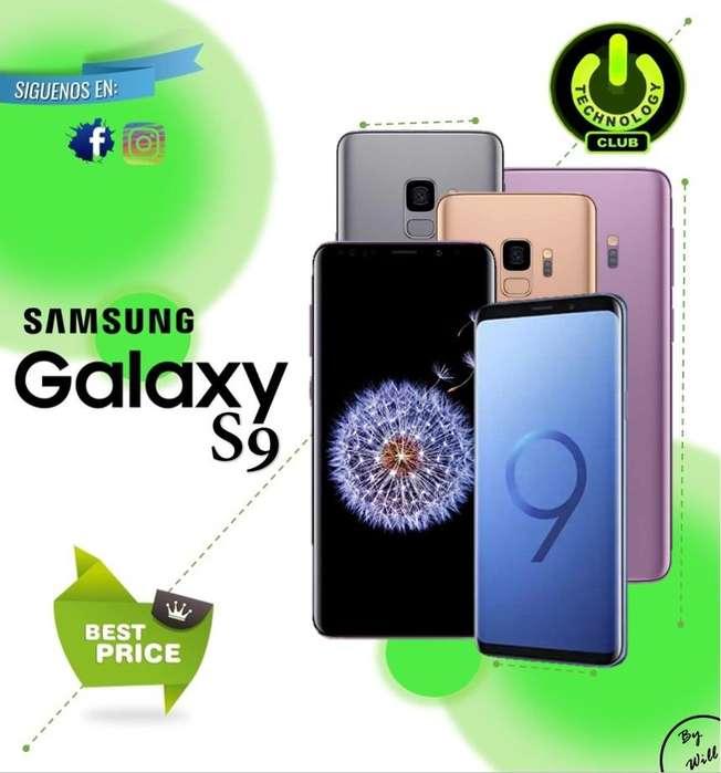 <strong>samsung</strong> Galaxy S9 6.2 pulgadas pantalla / Tienda física Centro de Trujillo / Celulares sellados Garantia 12 Meses