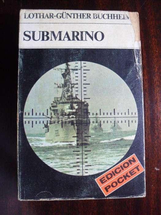 SUBMARINO LOTHAR -GUNTHER BUCHHEIM 416 PAGINAS EDICIONES ULTRAMAR