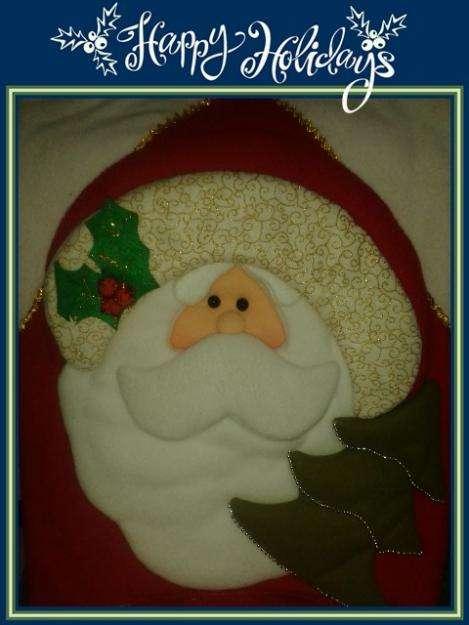 MUñecos navideños CUBRE SILLAS