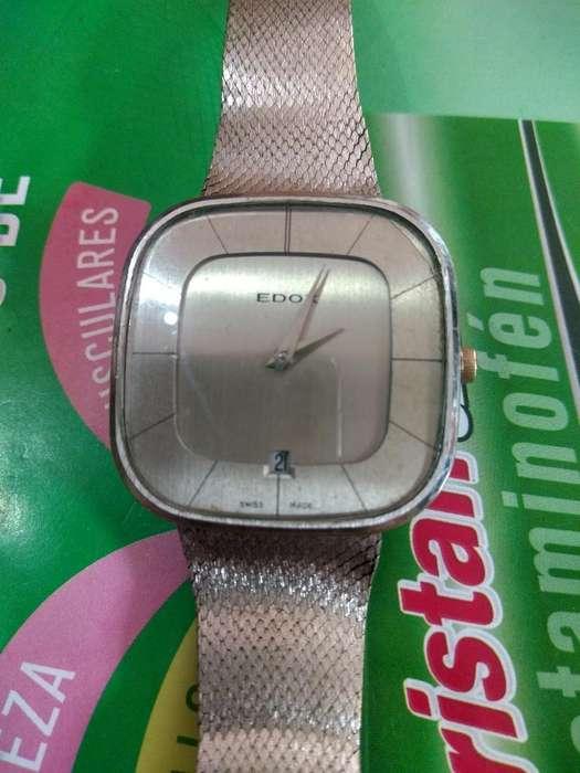 Reloj Edox Mecanico Suizo Origi Gangazo