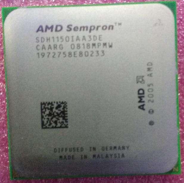 Procesador AMD Sempron 64 LE1150 Usado La Plata