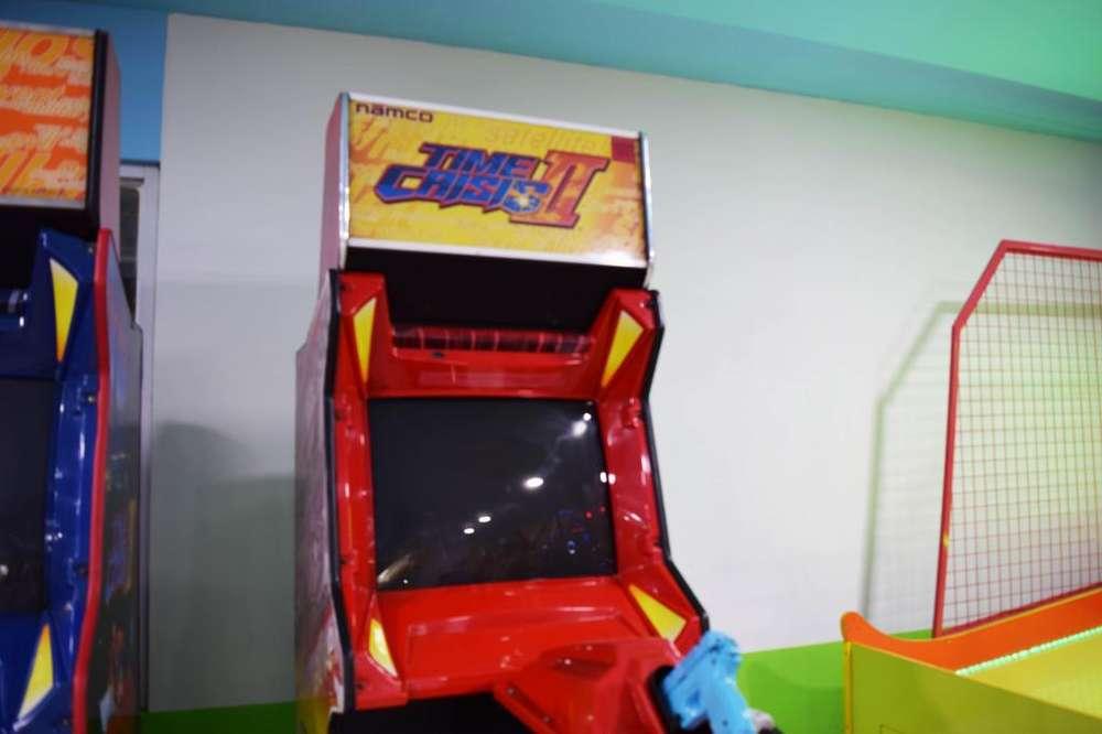 Simulador Pistolas Time Crisis 3 Maquinitas Video Juegos