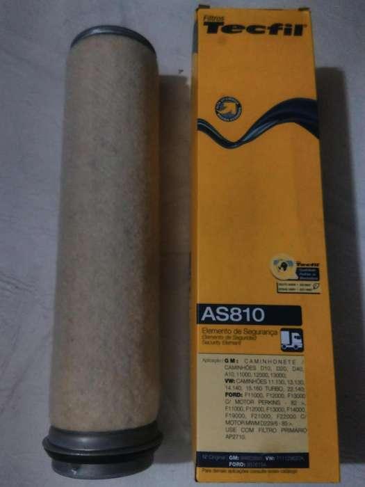 Filtro De Aire Secundario Tecfil As810 mann Cf800