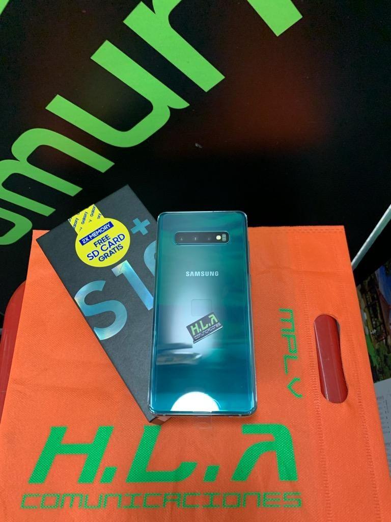 Samsung Galaxy S10 Plus 128gb nuevos factura garantia domicilio sin costo HLACOMUNICACIONES