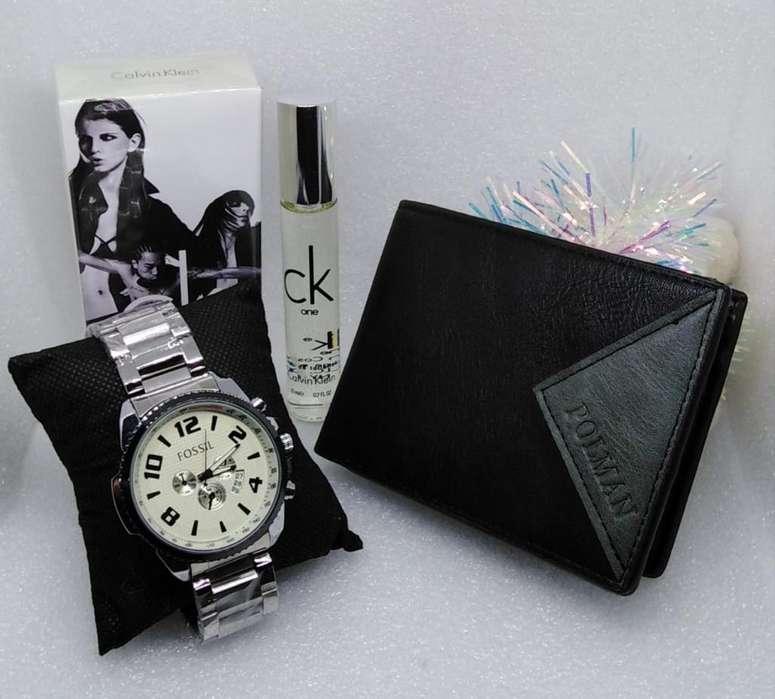 Reloj Y Billetera