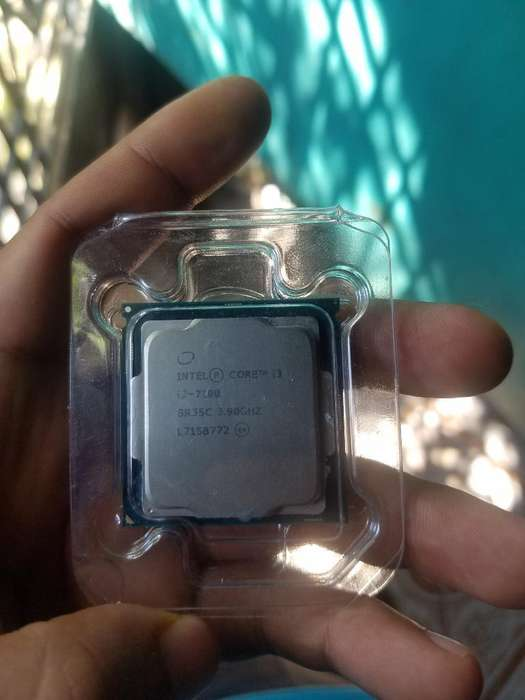 Cpu Core I3 7100 Socket1151 2 Mes de Uso