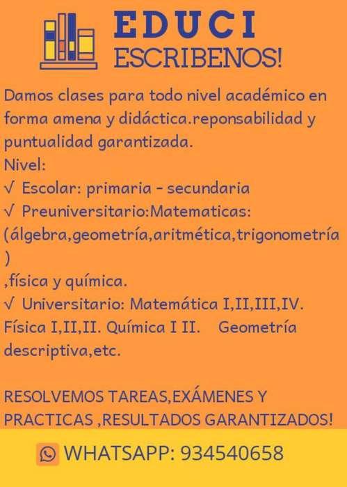 Clases Académicas