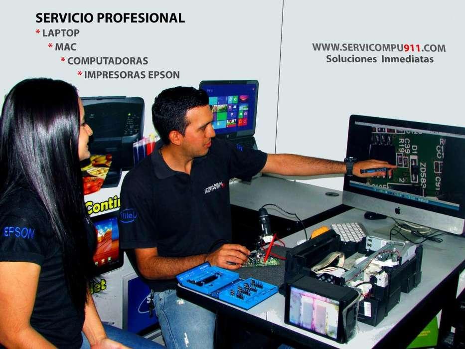 Mantenimiento a domicilio LAPTO con tienda fisica Guayaquil
