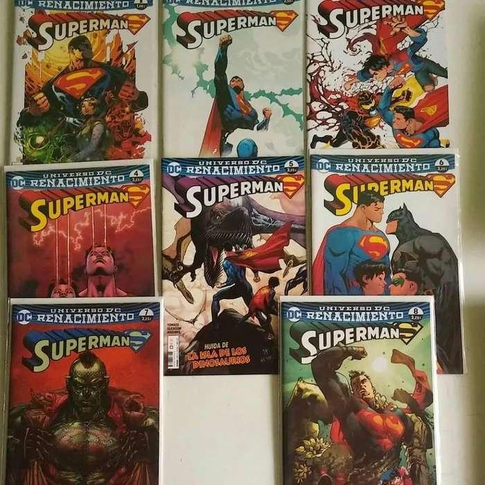 Comics Superman Renacimiento nuevos ecc españa