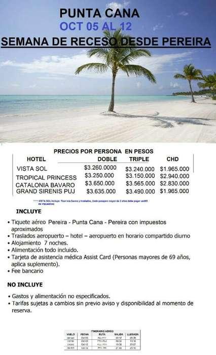 Salida Puntual a Punta Cana
