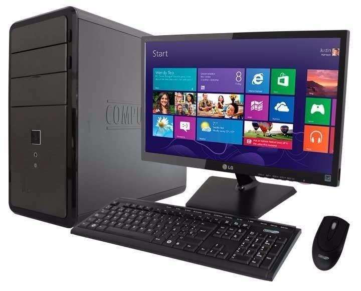 Computador Core I7 8700 4gb/2tb/led20 Nuevos 8 Generación