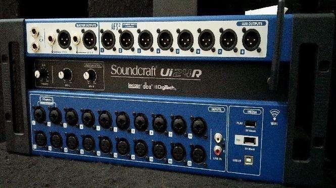 VENDO: Mixer Digital SOUNDCRAFT Ui 24R