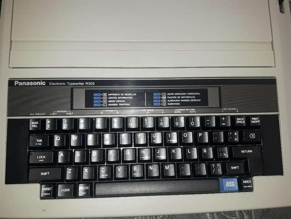 Máquina de Escribir Panasonic