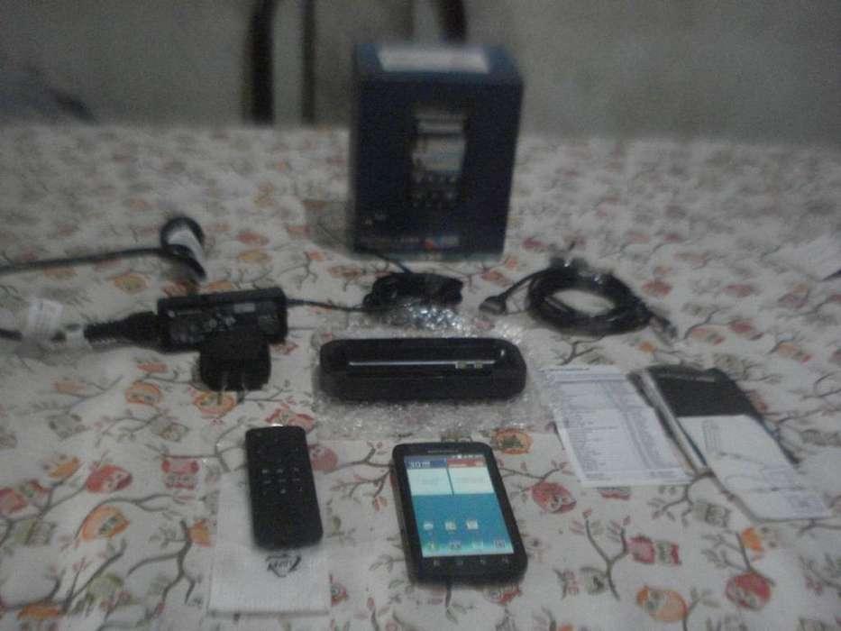 Celular Motorola Atrix Impecable En Caja C/accesorios Hdmi