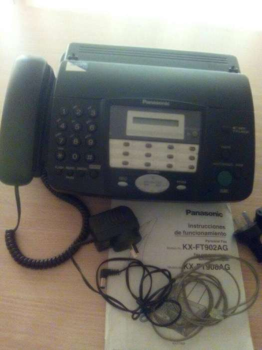 Vendo Fax <strong>panasonic</strong> Kx-ft 902.