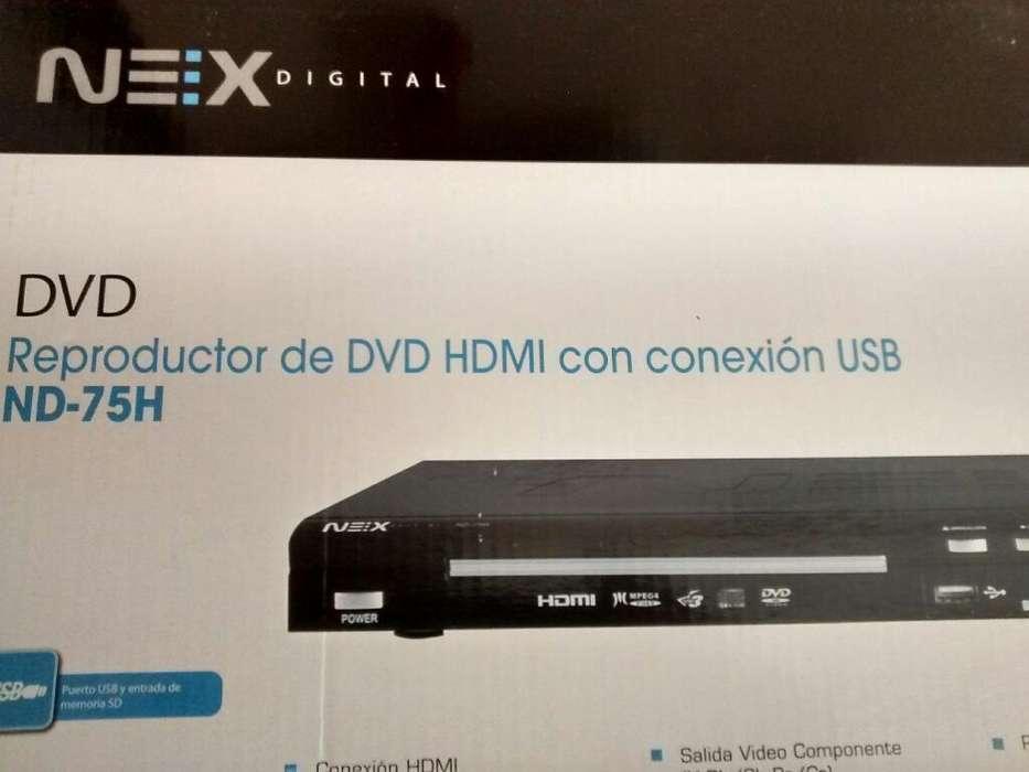 Reproductor de Dvd Nex Nd75h