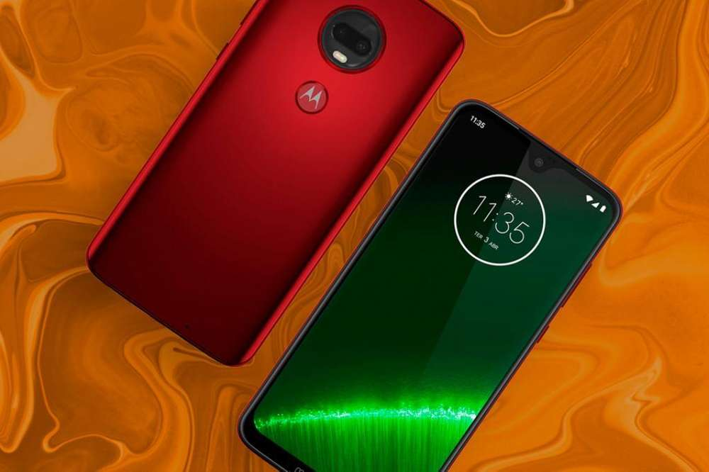 Motorola G7 Plus Viva Red Edición