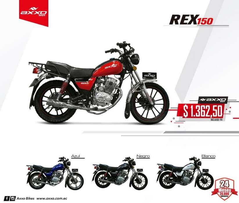Moto Axxo Rex 150