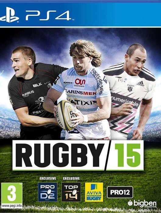 RUGBY 15 PS4 Fisico Usado