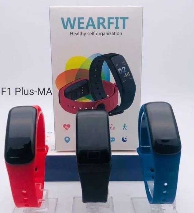 Reloj Deportivo, Pulsera Inteligente F1 Plus Smartwatch