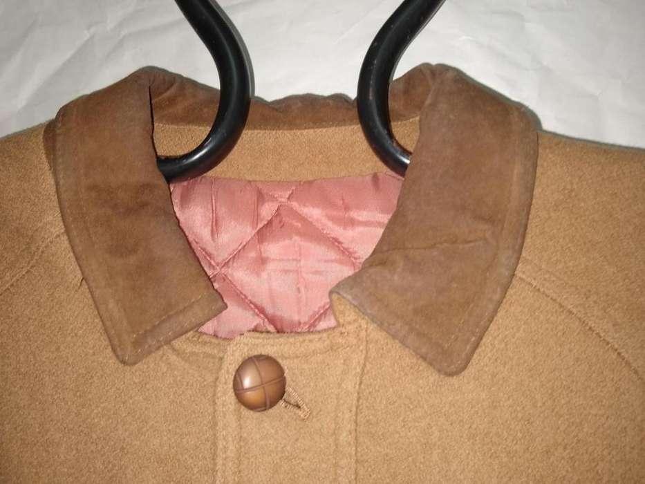 gaban sacon NUEVO M Barneys classic confort Matelasse botones cuero