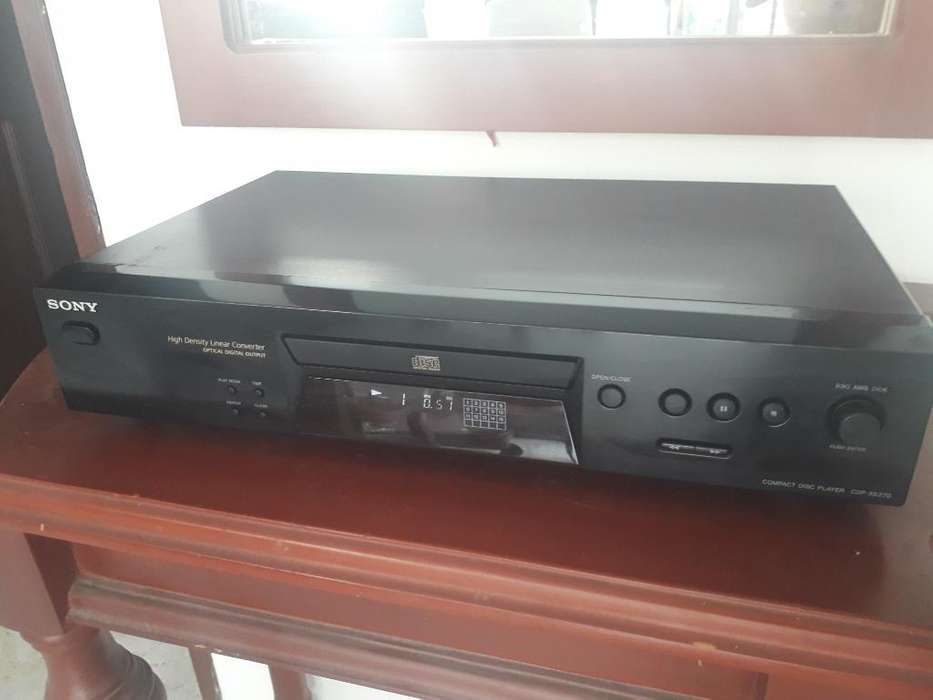 Reproductor de Cd Sony Cdpxe 270