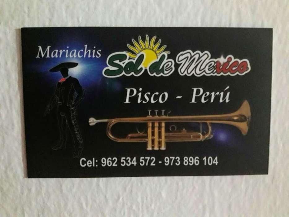 Mariachi Sol de Mexico Pisco - Perú