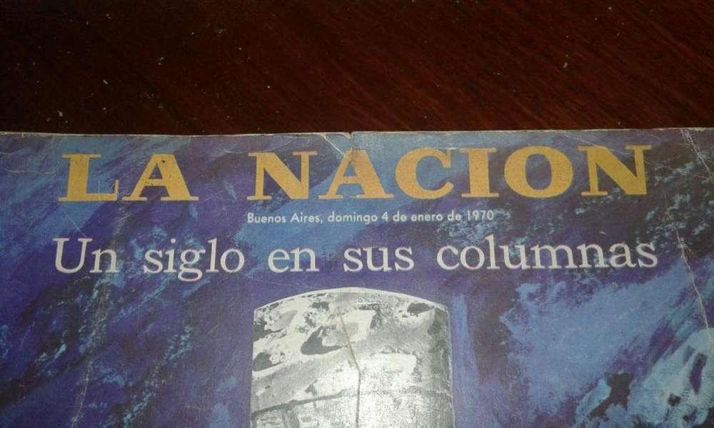 Libro La Nación 100 Años 4 De Enero 1970