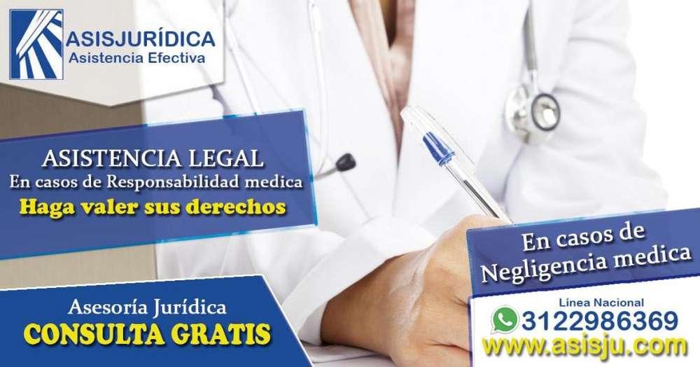 Abogados especialistas en negligencias médicas en Medellín y la dorada demandar indemnización mala praxis medica