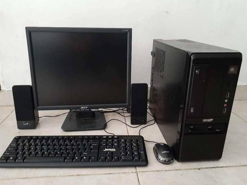 Computador 4gb en Ram Disco 320gb