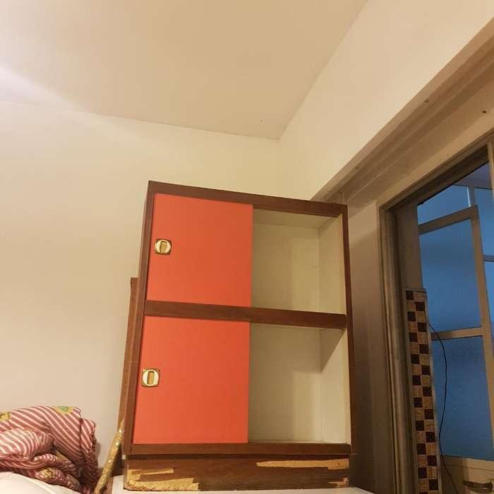 Mueble Formica C/estantes Y Puertas