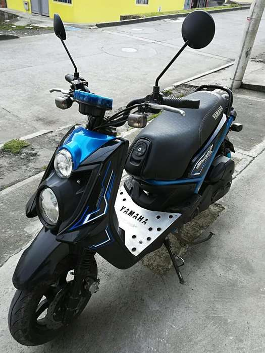Vendo Moto Bws X 125 Modelo 2016