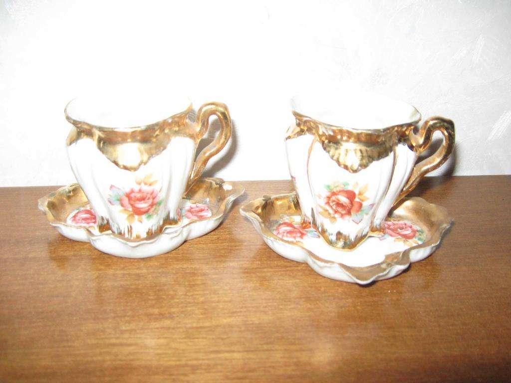 Juego Tu y yo café porcelana Pampa 550