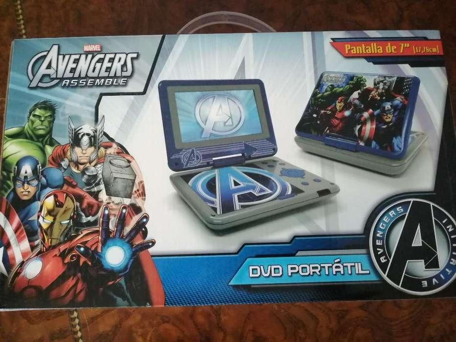 Nuevo. Dvd Portatil Avengers