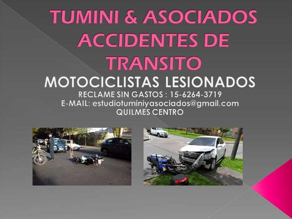 ACCIDENTES DE TRANSITO ESTUDIO TUMINI ASOCIADOS QUILMES CENTRO