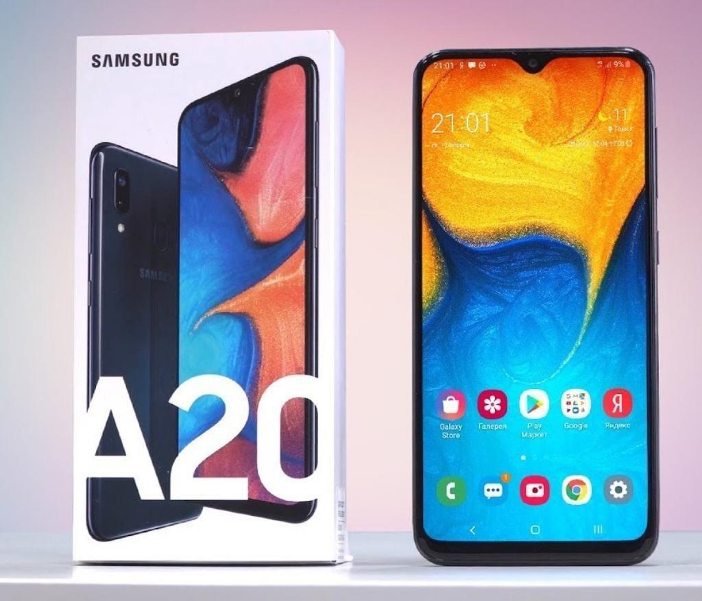 Samsung A20 Nuevos de Paquete