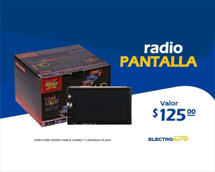 RADIO PANTALLA 6.5 PARA CARRO/<strong>vehiculo</strong>