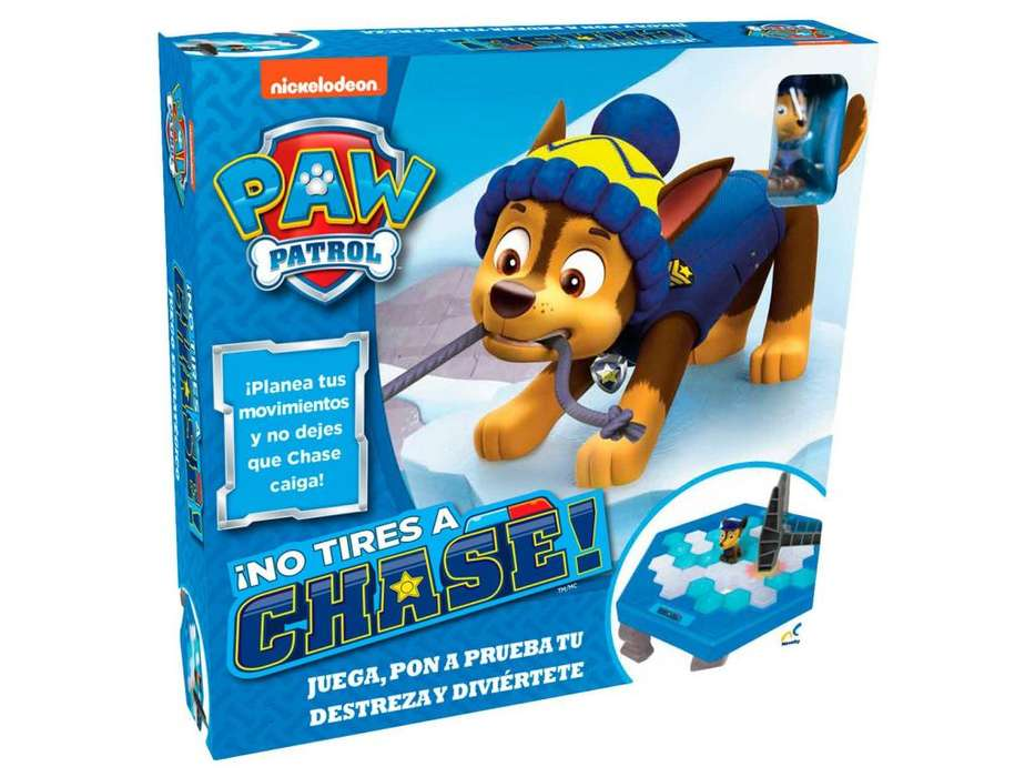 ¡No tires Chase! Paw Patrol