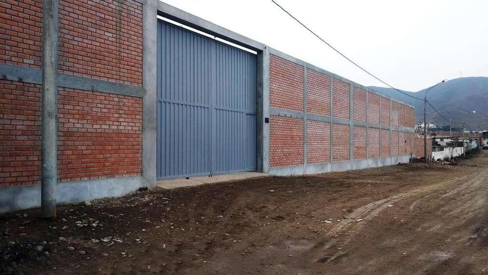 Local Industrial 5000 m2 de Estreno en VENTANILLA - Parque Porcino Zona 9