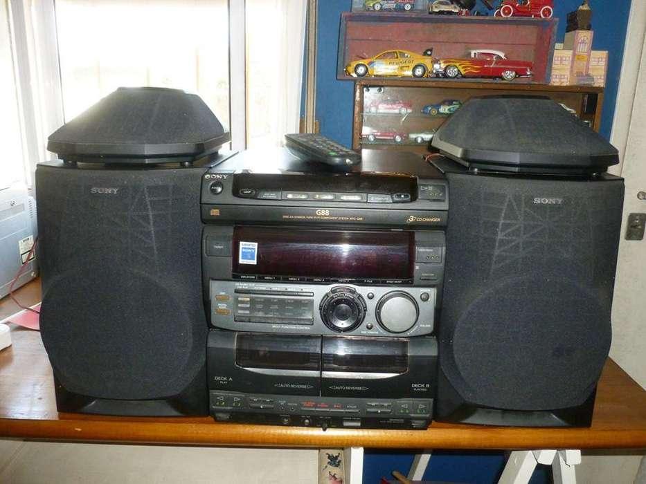 Equipo Minicomponente Sony G88, Funciona los CD