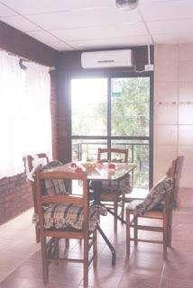 Paraná Departamento con jardín, cochera, wi fi, calefac, aire, pileta