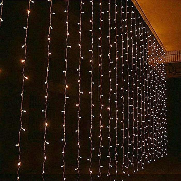 <strong>cortinas</strong> Led 4.5m X 3m Interior Exterior rgb