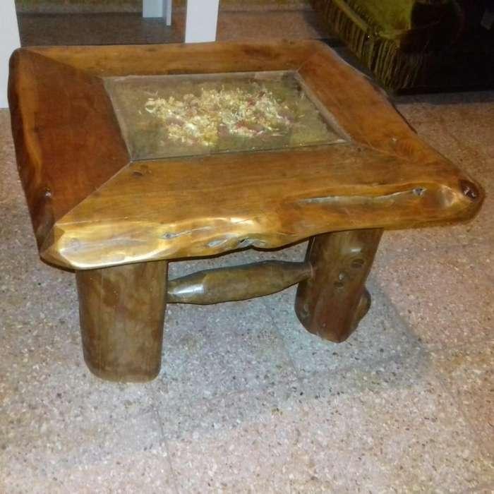 Mesa ratona rustica madera maciza oferta 2800 !!!