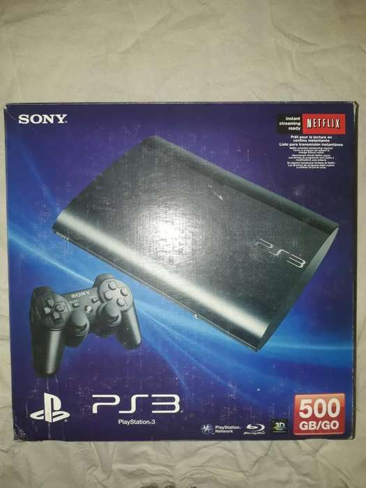 Vendo Playstation 3 Slim 500g