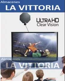 Antena de Visión Ultra HD Clear Vision, Interior