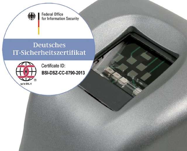 Lector biometrico de huellas - Morpho Idemia Sagem MSO 300